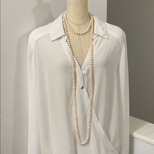 🖤62 INCHES LONG Real pearl necklace